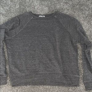 Amuse Society cropped sweater